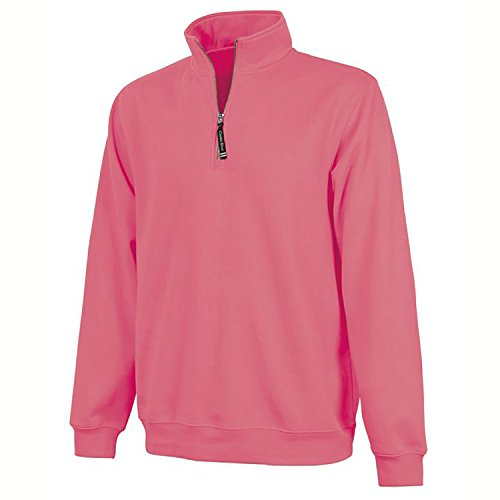 Charles River Apparel Ultra Soft and Cozy Women's Crosswind Pullover Sweatshirt - Preppy Pink, Small