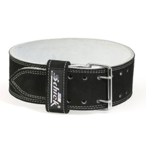 Schiek - L6010-XL - Schiek Competition Power Lifting Leather Belt - XL by Schiek Sports