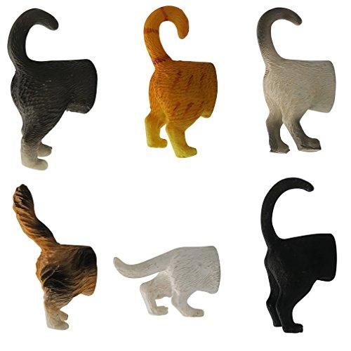 refrigerator cat magnets - 6
