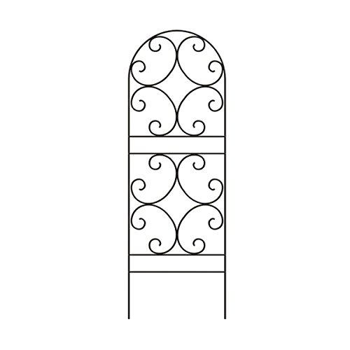 Wrought Iron Trellis - Panacea 84401 Scroll Trellis