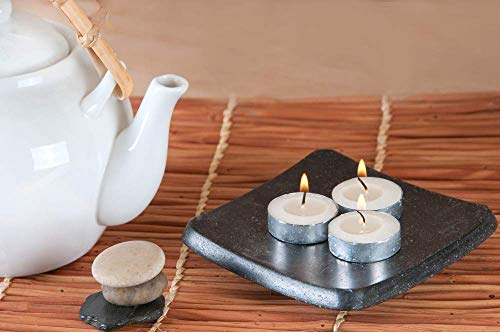 CandleNScent | 5 Hour Tealight Candles | 200 Tea Lights | White | Unscented | Extended Burning time | Poured Wax | Made in USA by CandleNScent (Image #1)