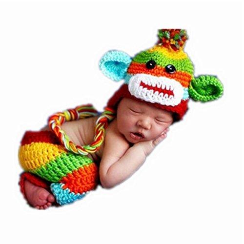 nitting Baby Photography the Monkey Clothing ()