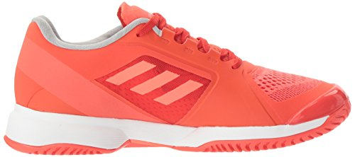adidas Performance Damen ASMC Barricade 2017 Tennisschuh Blaze Orange / Weiß / Infrarot