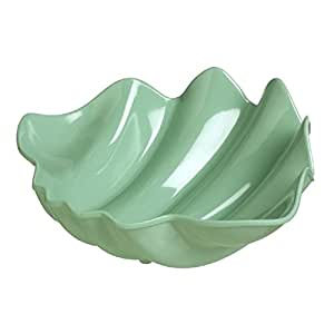 Light Green Shell Bowl featuring the Shimmering Sea Theme