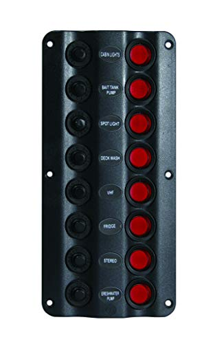 (Seasense Led Switch Panel 8 Gang)