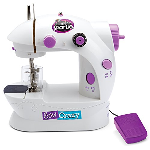 Cra-Z-Art Sew Crazy Sewing Machine w/Magic Sequin Headband NEW by Cra-Z-Art