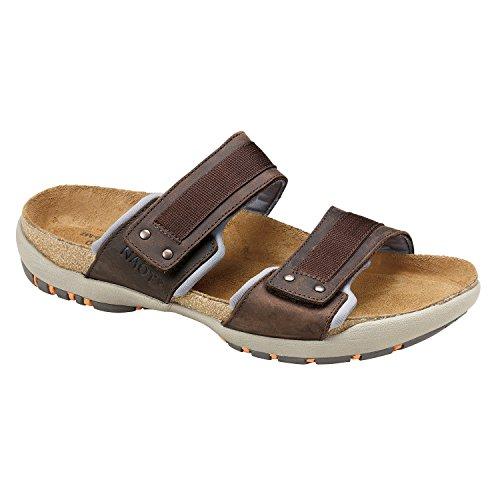 Naot Klättra Vibe Män Sandaler Bison Läder