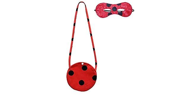 BCOGG Kids Ladybug Cosplay disfraz otoño niñas camiseta + pantalón ...