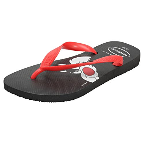Havaianas Damen Looney Tunes Zehensandale black-red (4140276.0172)