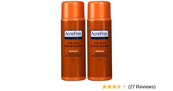 Amazon Com Acnefree Severe Anti Acne Cleanser Wash Step 1 8 Oz 2