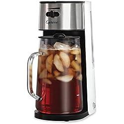 Capresso 624.02 Ice Tea Maker, White/Stainless