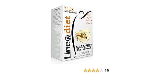 Crackers de pan azzimo hidroproteico, 1, 2 o 3 paquetes, galletas proteicas, fase 1 y fase 2, bajo contenido de glúcidos y lípidos 12