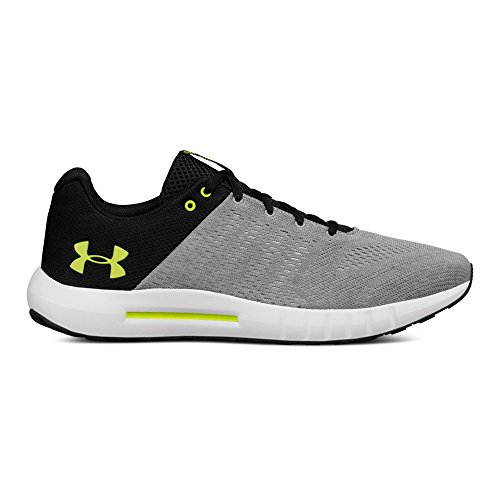 Under Armour Men's Micro G Pursuit, Steel (105)/Rhino Gray, (Under Armour Trainer Shoes)