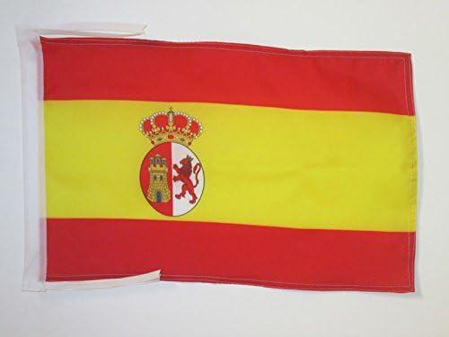 AZ FLAG Bandera de la Primera REPÚBLICA DE ESPAÑA 1873-1874 45x30cm - BANDERINA ESPAÑOLA Antigua 30 x 45 cm cordeles: Amazon.es: Hogar
