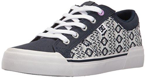 DC Women's Danni Tx Se Skateboarding Shoe, Navy/Navy, 7 B US