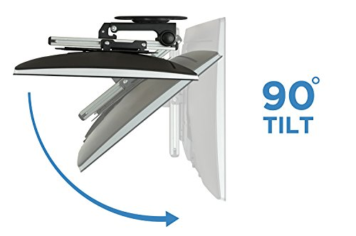 Incroyable Amazon.com: Mount It! MI 4222 TV Ceiling Mount Kitchen Under Cabinet TV  Bracket Folding, Retractable, 90 Degree Tilt, Fold Down, Swivel For 17 To  37 Inch ...