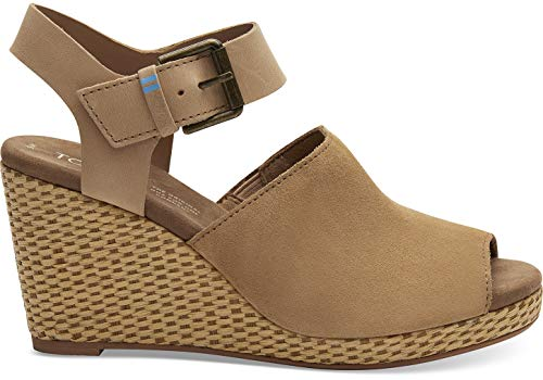 TOMS Women's Tropez Honey Suede/Leather 10 B US ()