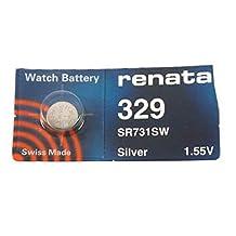 #329 Renata Watch Battery
