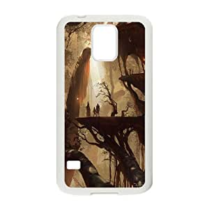 Concept City Fairy Village Hard Shell Cell Phone Case Cover for Samsung Galaxy Case S5 HSL469565