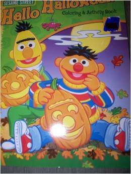 Sesame Street Coloring & Activity Book ~ Holiday