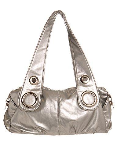 women Silver handbag Handbag All For Handbags Classic Hobo by Shoulder S5wxnZFzq