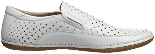 Stacy Adams Men's Northpoint Moe Toe Slip-on Driving Style Loafer White discount with paypal buy cheap cost discount best store to get outlet authentic many kinds of cheap online 3pvNO