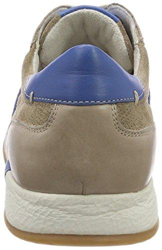 Sioux Rodon, Sneaker Uomo Beige (Cocco/Cobalto-kombi 002)