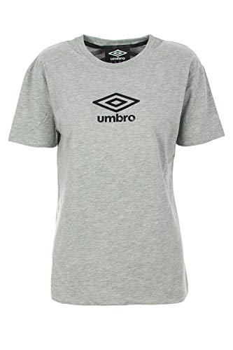 Umbro T-Shirt Long Sleeve Woman Jersey U0067 l Grey