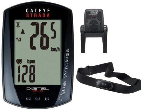 CatEye Strada Digital Wireless CC-RD420DW bike computer wireless black