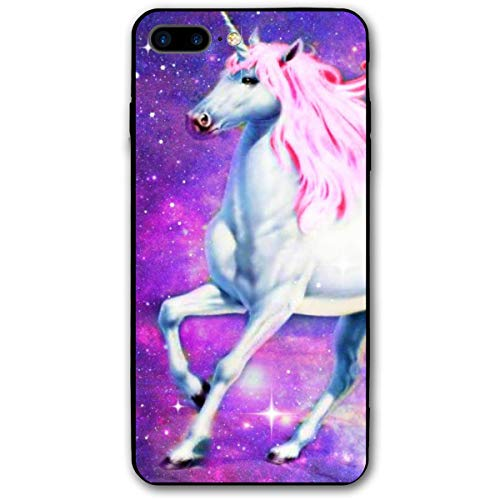 Xianjing iPhone 7 Plus Case/iPhone 8 Plus Case Pics Unicorn Anti-Scratch PC Rubber Cover Lightweight Slim Printed Protective -