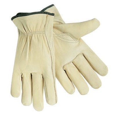 Unlined Drivers Gloves - large economy grade grain driver keystone th [Set of 12] by Memphis Glove Economy Drivers Glove