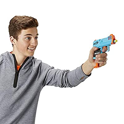 NERF Fortnite Micro HC-R Microshots Dart-Firing Toy Blaster & 2 Official Elite Darts for Kids, Teens, Adults: Toys & Games