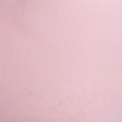 Pink Minky - Light Pink Solid Minky Fabric, 60