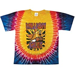 Govt Mule Men's 2007 Tour Tie Dye T-shirt Large Multi
