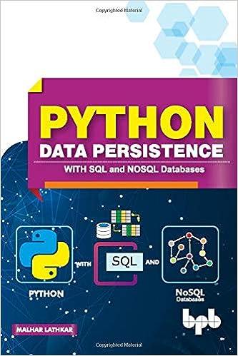 Python Data Persistence