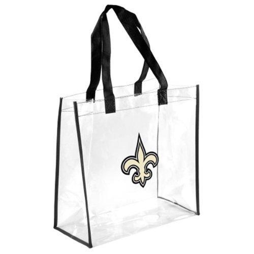 NFL New Orleans Saintsclear Reusable Bag, New Orleans Saints, One Size