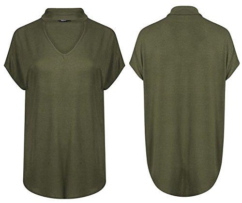 Ahr Ltd - Camiseta sin mangas - Básico - para mujer blanco