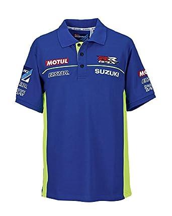 Suzuki - Camiseta - para hombre Azul azul: Amazon.es: Ropa y ...