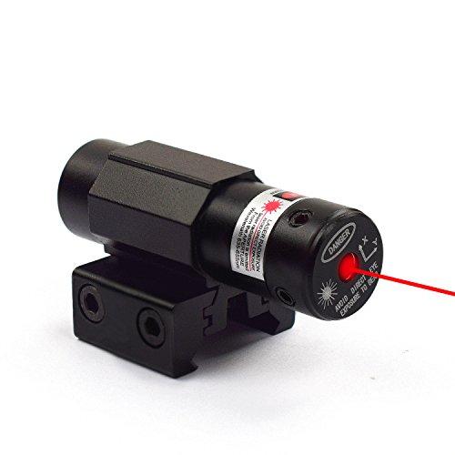 Feyachi Hot Red Laser Dot Sight Scope for Gun Rifle Pistol Picatinny Mount (Red Hot Dot)