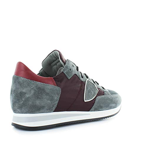 Inverno Autunno Sneakers Shoes Wine Model 2019 Gray Uomo Tropez Philippe Mondial zq8BSwS