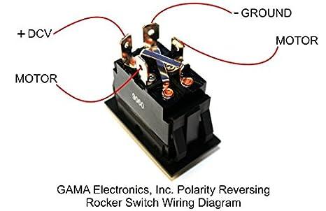 41I0EXN9TPL._SX466_ amazon com gama electronics rocker switch polarity reverse motor