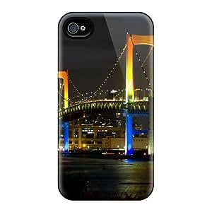 New Style Luoxunmobile333 Hard For Case Iphone 5/5S Cover - Tokyo Rainbow Bridge