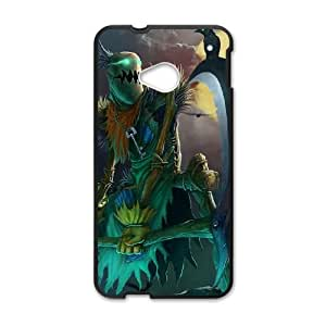 Fiddlesticks HTC One M7 Cell Phone Case Black Phone Accessories LK_786392