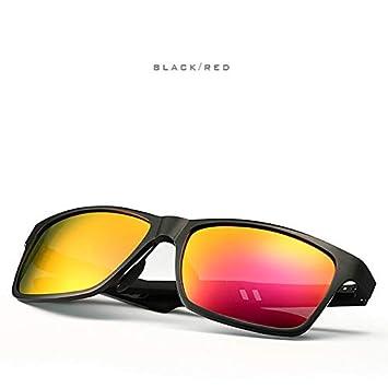 JGOLHJGKJ55 Gafas Aluminio, magnesio, Gafas de Sol ...