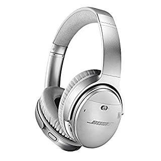 Bose QuietComfort 35 II Wireless Bluetooth Headphones, Noise-Cancelling, with Alexa voice control, enabled with Bose AR - Silver, One Size - 789564-0020 (B0756GB78C) | Amazon Products