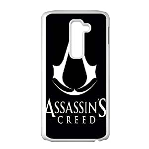 LG G2 Cell Phone Case White Assassin's Creed AFT836628