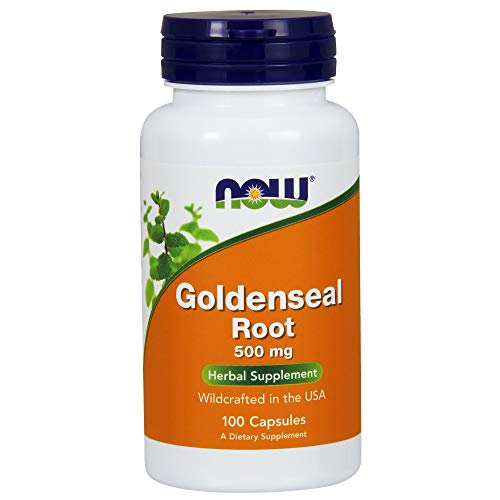 NOW Supplements, Goldenseal Root 500 mg, 100 Capsules