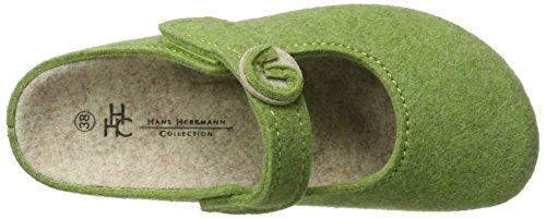 Hans Vert Herrmann Femme Sabots 80 HHC Collection Verde rr8HqT