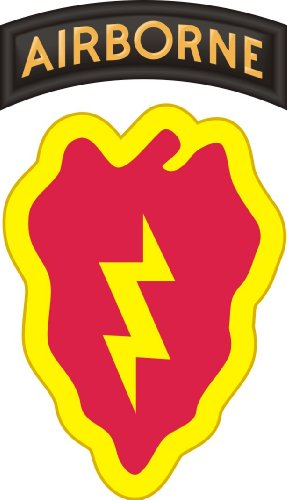 25th infantry division decals - 9