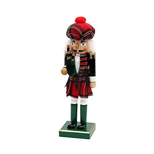 Dekohelden24 Beautiful and original Nutcracker as Scotsman, size approx. 26 cm